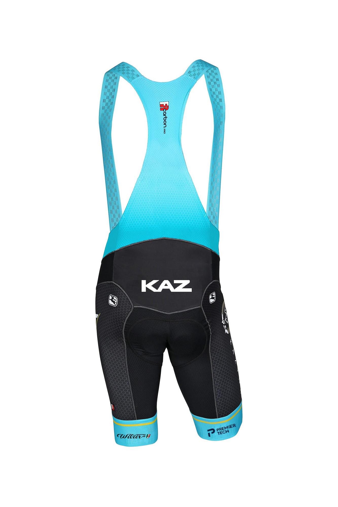 Pantaloncini bici ciclismo WILIER Astana Pro Team 2020 VERO PRO