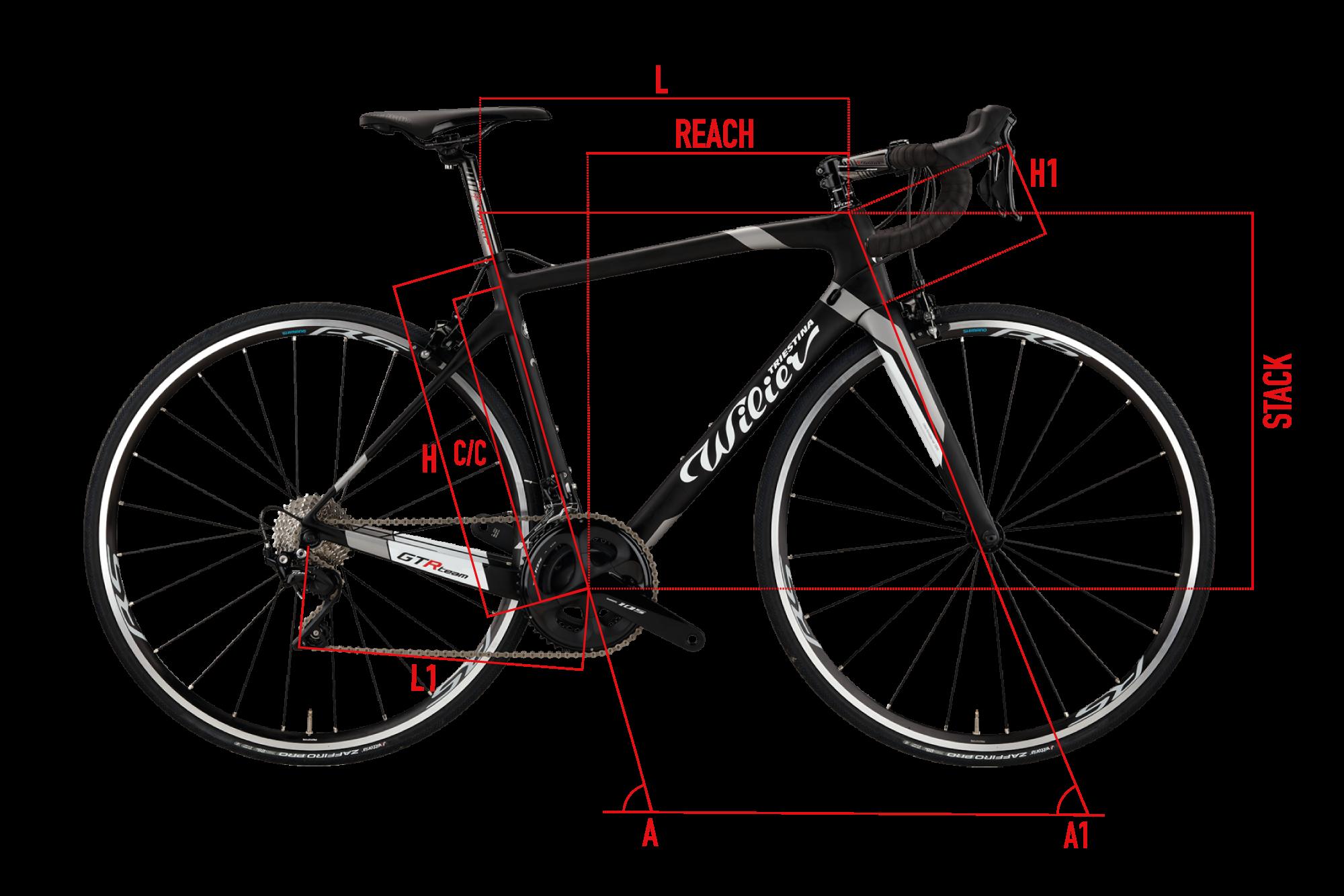 Bike Frame Geometry Image