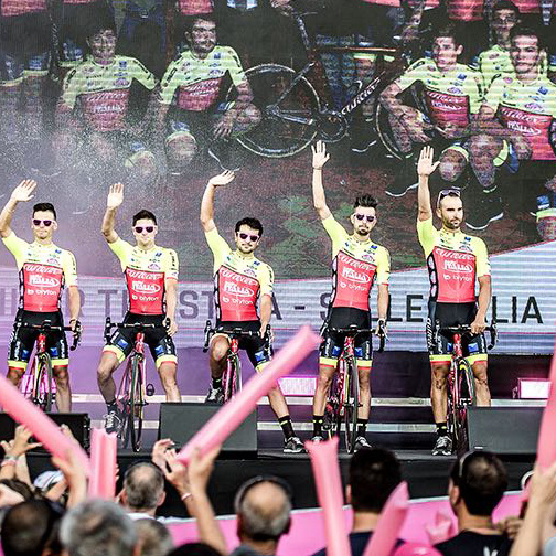 WILIER TRIESTINA - SELLE ITALIA READY FOR THE GIRO D'ITALIA