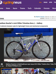CYCLING NEWS 15/02/2016