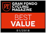 GRAN FONDO CYCLING MAGAZINE BEST VALUE